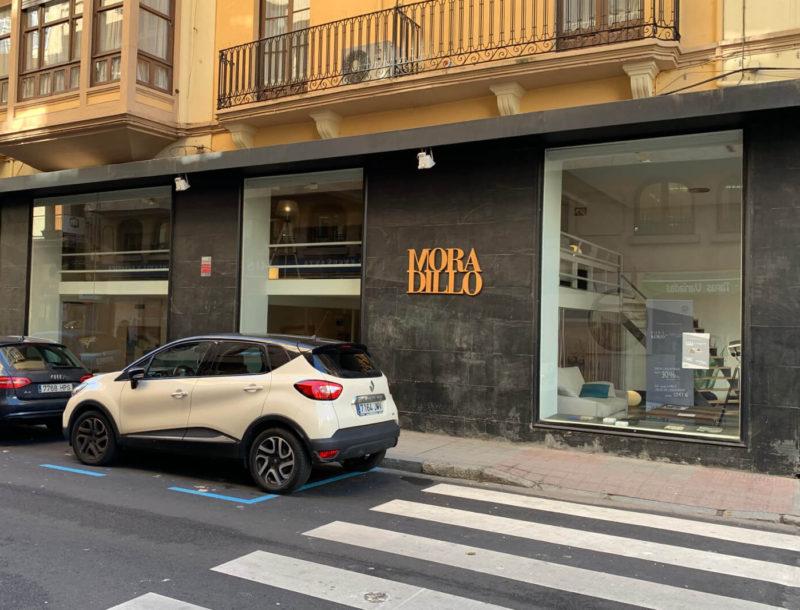 Fachada Moradillo Store Zamora