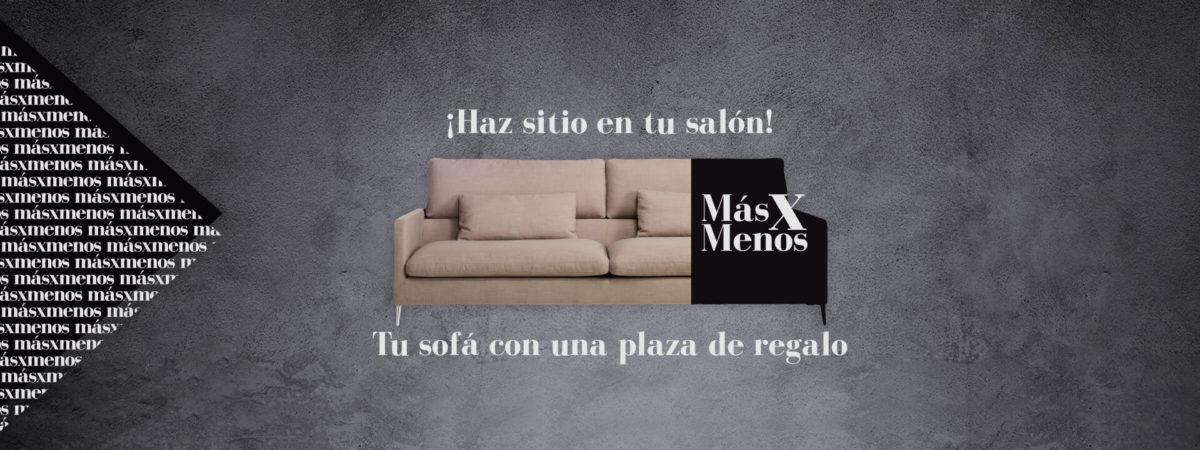Te regalamos una de las plazas en la compra de tu nuevo sofá