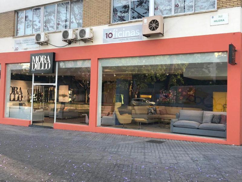 Fachada tienda Moradillo Store Málaga