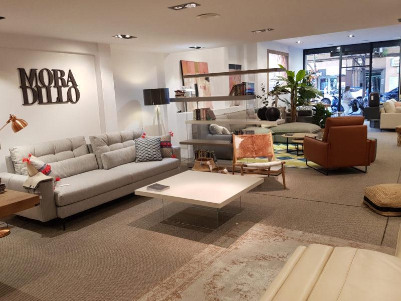 Exposición tienda Moradillo Store Palma
