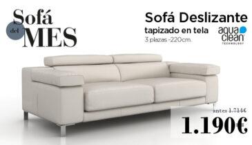 Mes del Sofá - Promoción sofás deslizantes Canarias