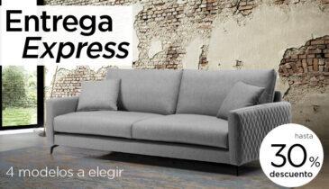 Selección de sofás con entrega de 5 a 15 días