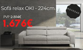 Promo sofá Relax OKI