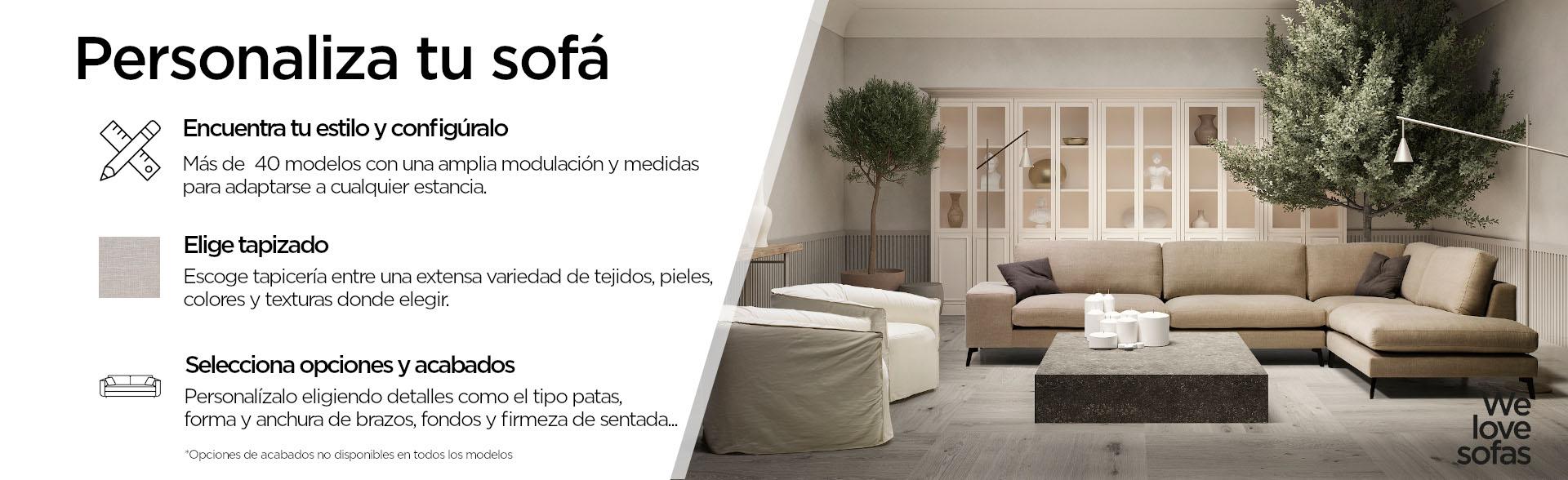 Personaliza tu sofá en Moradillo Store